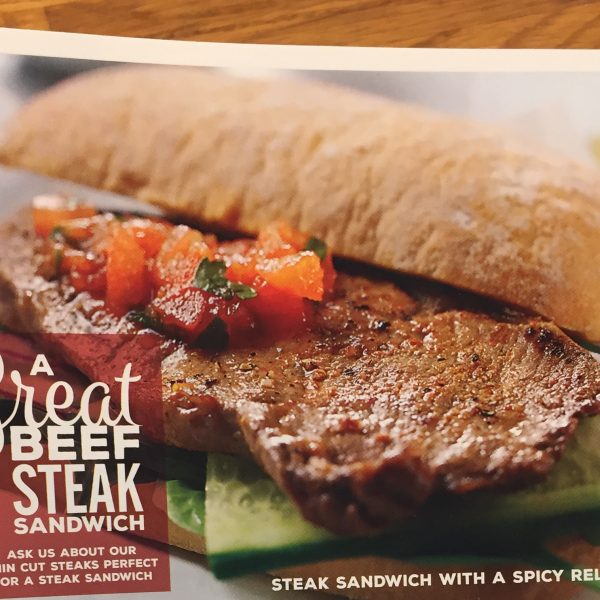 Great British Beef Steak Sandwich