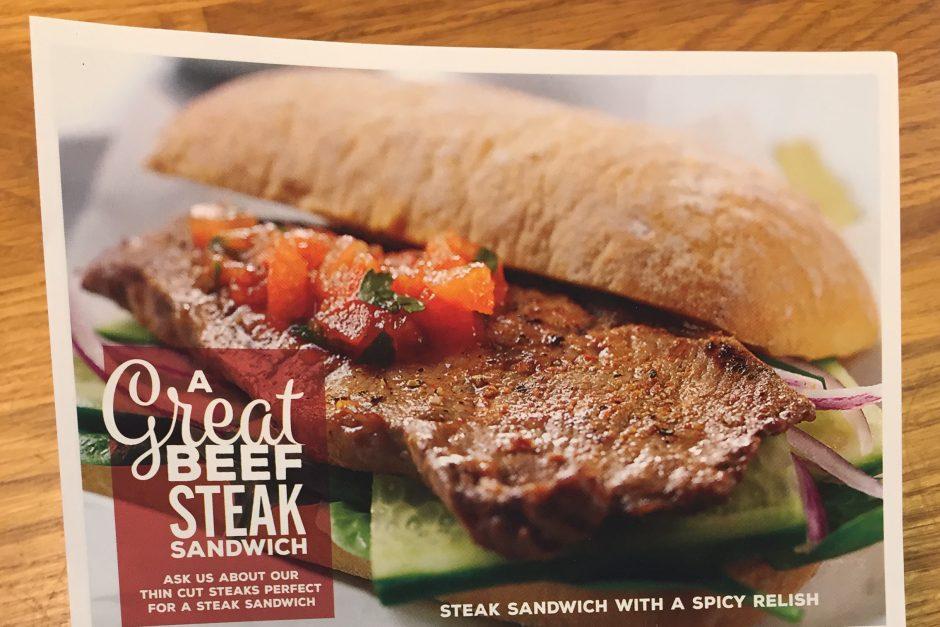 Steak Sandwich recipe